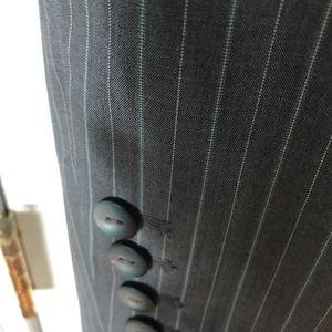 Jones New York Jackets & Coats - Jones New York Suit Gray Pinstripe blazer & skirt